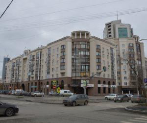 Екатеринбург. Жилые дома по ул. Ленина-Хохрякова-Попова-С.Ванцетти