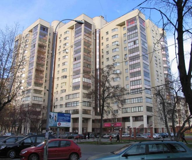 Екатеринбург. Жилой дом по ул. Белинского 35