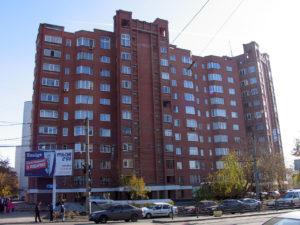 Екатеринбург. Жилой дом по ул. Московская 1