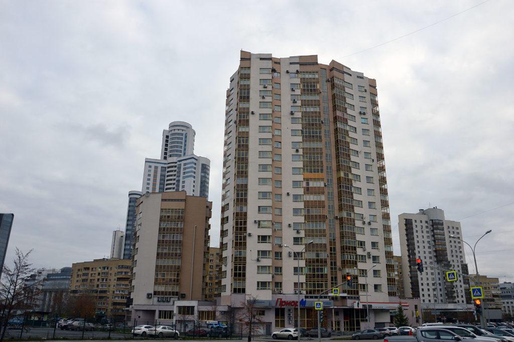 Екатеринбург. Жилой дом по ул. Маршала Жукова 14